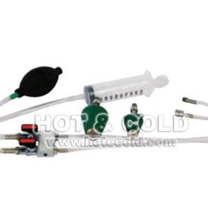 Kit per prova di tenuta impianti analizzatore di combustione chemist 400 - 500