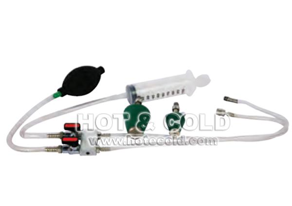 Kit prova di tenuta impianti per analizzatori di combustione Chemist 200 – 300 – 400 – 500