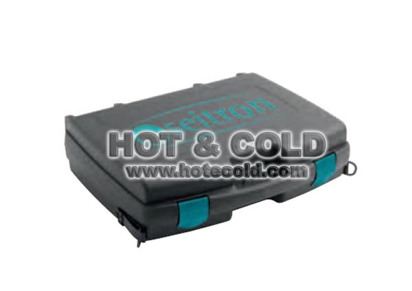 Valigia in plastica rigida per analizzatore di combustione Seitron Chemist 500