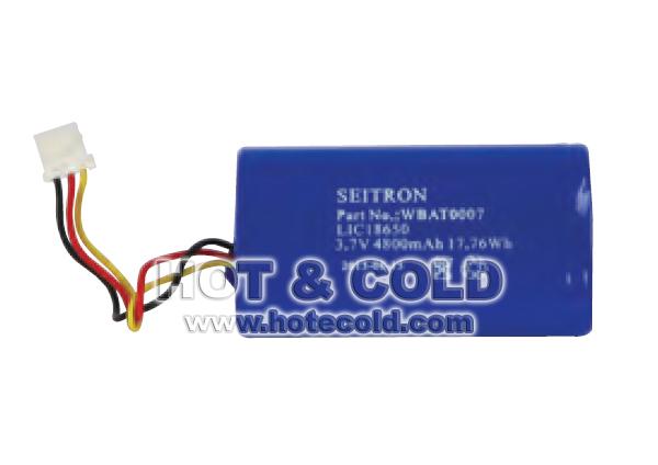 Batteria per analizzatore di combustione Seitron modello Chemist 500 – ricaricabile