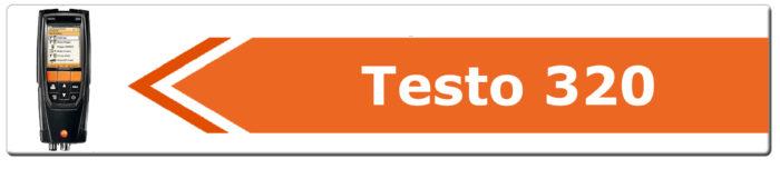 Ricambi analizzatore testo 320