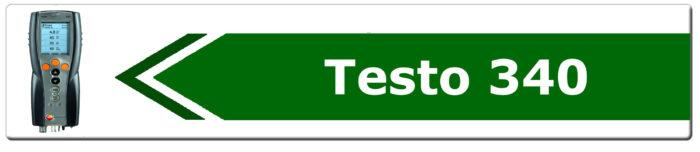 Ricambi analizzatore testo 340